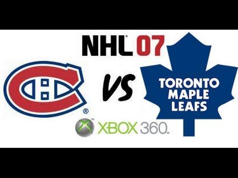 NHL 07 - Montreal Canadiens vs. Toronto Maple Leafs