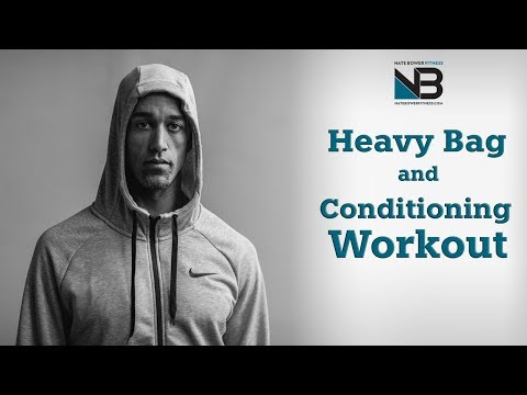 Ultimate 20 Minute Motivational Heavy Bag Workout