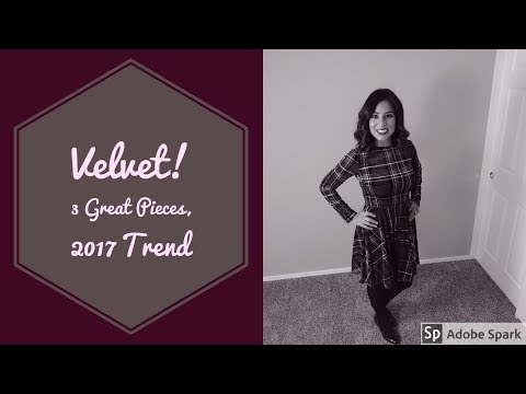 3 Great Velvet Wardrobe Pieces You Can't Go Wrong With