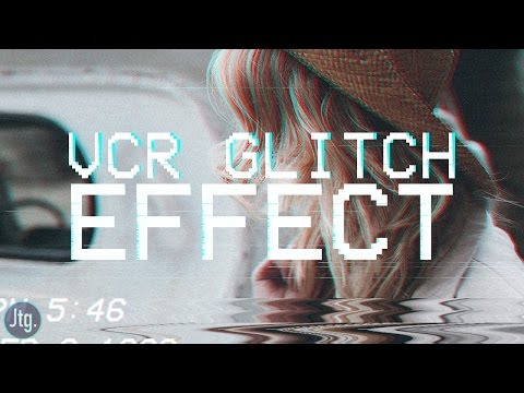 Photoshop CC Tutorial: VCR VHS Instagram Camcorder Glitch Effect