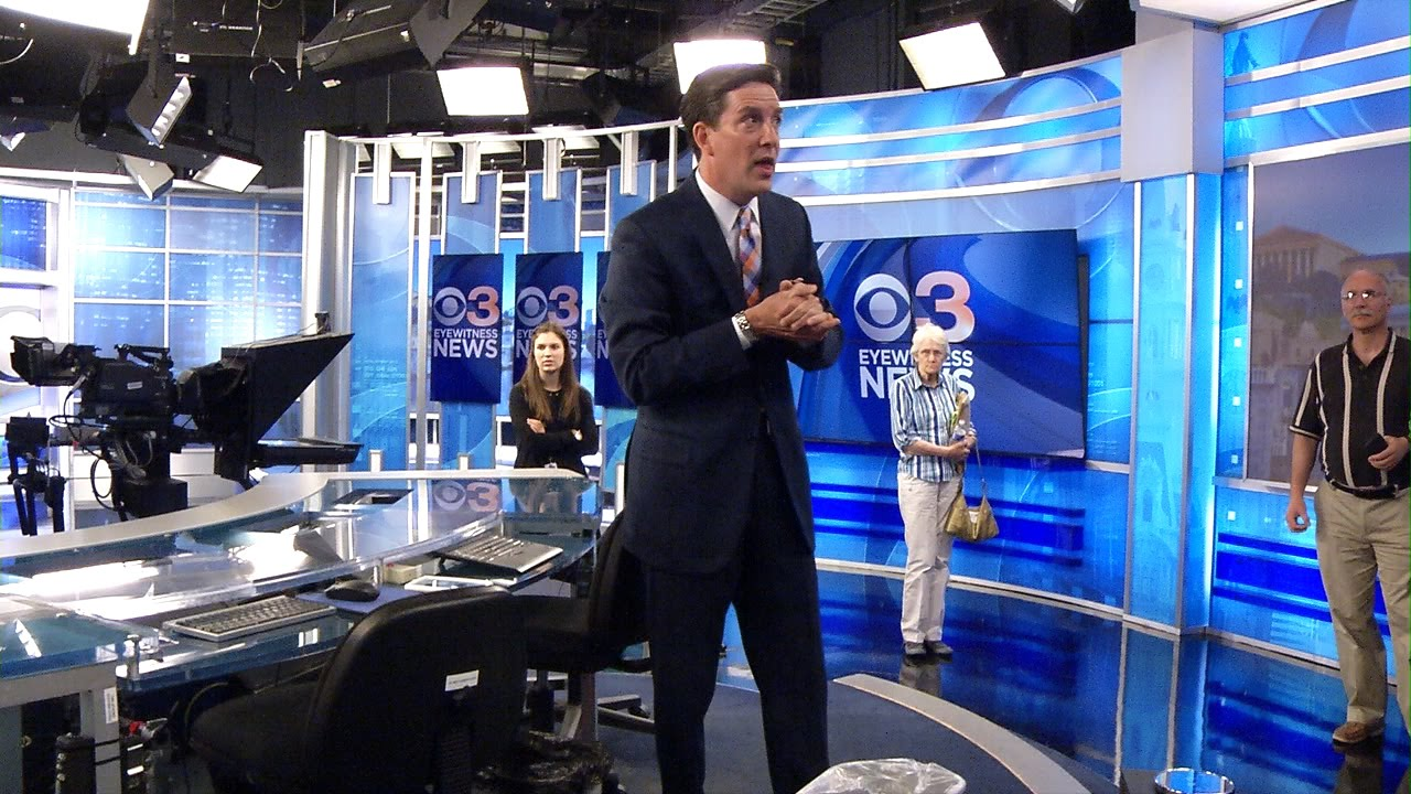 CBS Broadcast Center  Philadelphia  A Look and Behind the Scene Tour