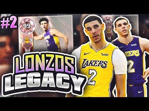 LONZOS LEGACY 2.0 #2 - CRAZY GAME VS GOD SQUAD!! NBA 2K18 MYTEAM!