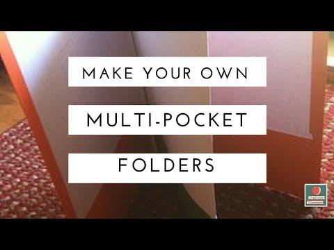 Multi Pocket Folders DIY!