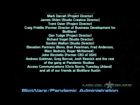 Mass Effect Walkthrough pt 166 Credits