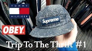 bb1ea73f673 RARE SUPREME HAT FOUND AT THE THRIFT STORE! - Tube10x.com