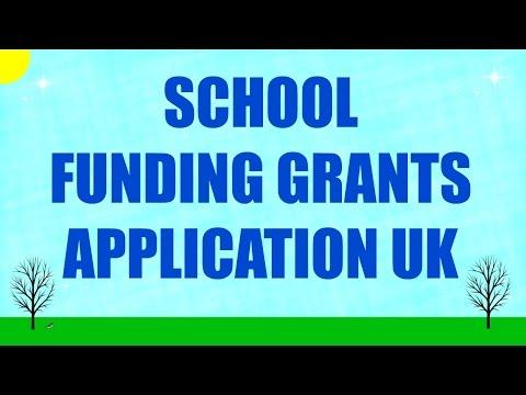 School Funding Grants Application UK