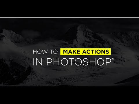 How To Make Actions in Photoshop with Ben Willmore