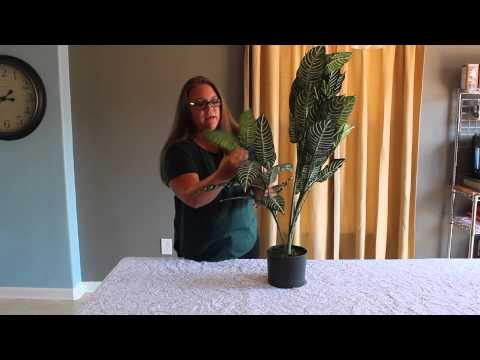Learn How To Fluff and Shape an Artificial Tree
