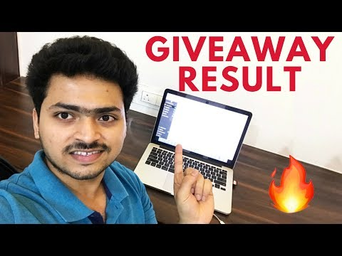 Giveaway Results | Tech Unboxing 🔥🔥