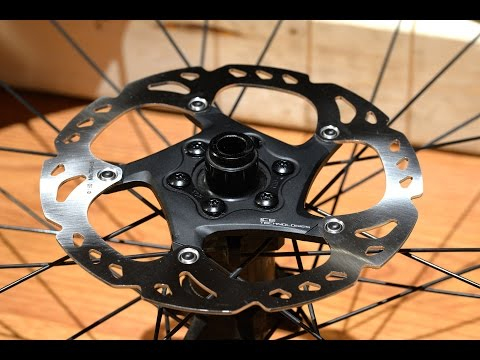 Shimano XT RT86 Ice-Tech 6 bolt Disc / Rotor Review, Installation on Bontrager Hubs