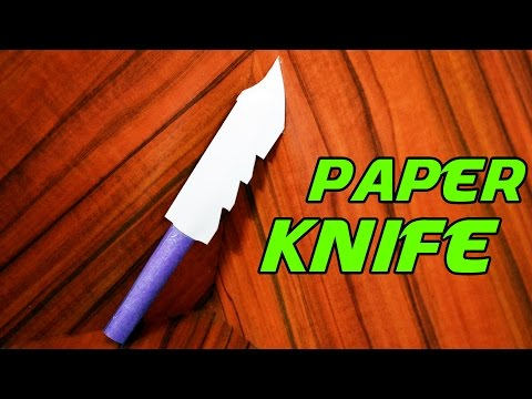 How to make a PAPER KNIFE - Best Paper Knife (Tutorial)