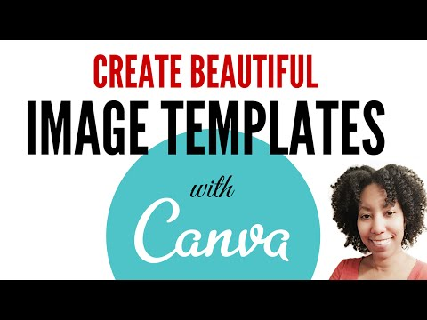 How To Make a Blog Image Template With Canva
