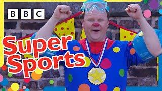 Mr Tumble's Super Sport Compilation! ⚽️ 💦 🎾   CBeebies   23 Minutes