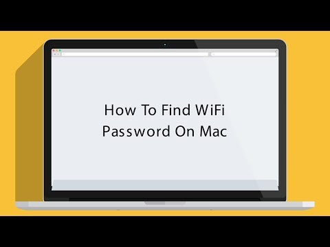 How to Find WiFi Password on Your Mac