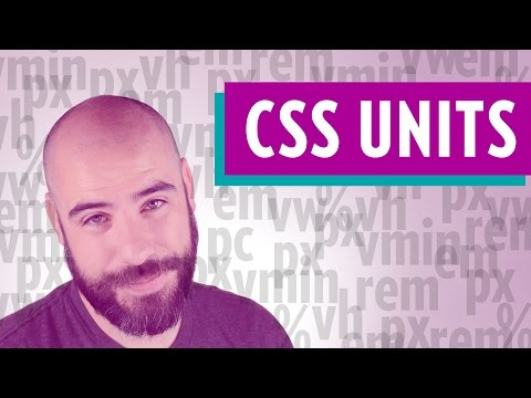 CSS Units (CSS Lengths: rems, ems, pixels, percents, and more)