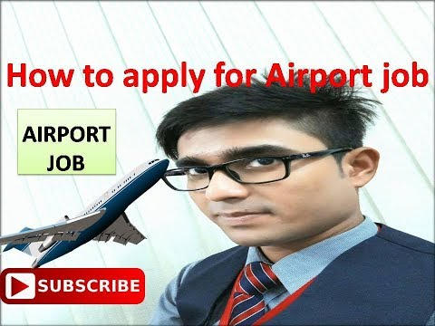 How to apply and get a job at airport without any consulting fees in india | aviation Motivation