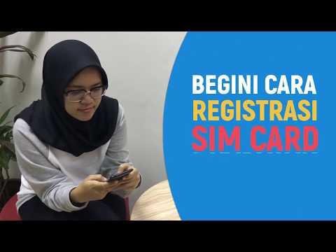Ini Nih Cara Registrasi SIM Card Prabayar