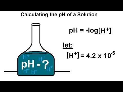 PreCalculus - Logarithmic & Exponential Functions (17 of 20) Calculating pH Scale