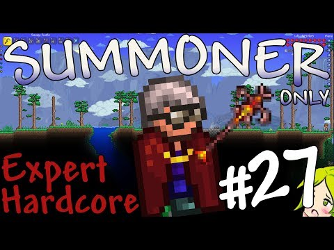 Terraria Expert Hardcore Summoner Only #27