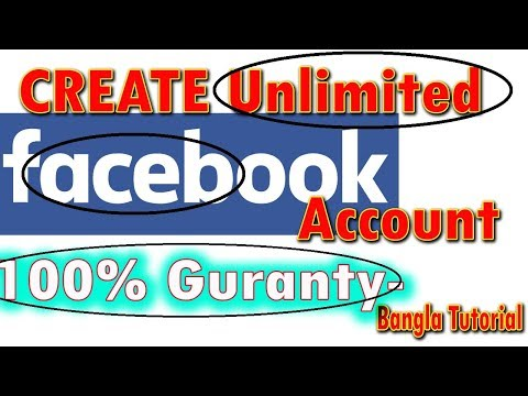 How to create unlimited Facebook ID or account without phone verification 2018, Bangla (Nayan Mia)