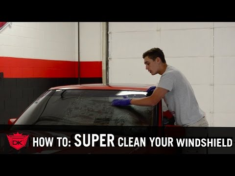 How To SUPER Clean Your Car's Windows