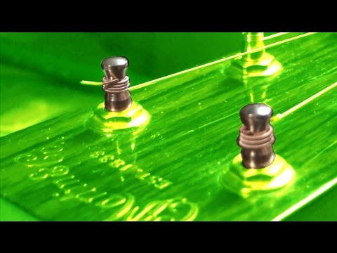 Best way to change strings on an acoustic guitar how to change strings on an acoustic guitar youtube