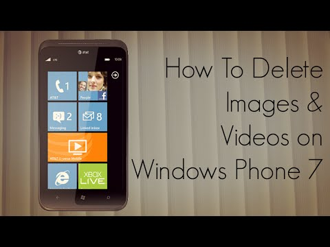 How to Delete Images & Videos on Windows Phone 7 - PhoneRadar