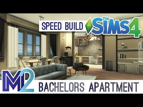 The Sims 4 Speed Remodel - Bachelors Apartment