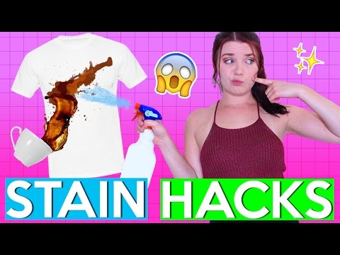 Stain Removal HACKS TESTED!  | PINTRY