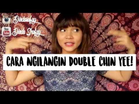 TIPS MENGHILANGKAN DOUBLE CHIN DALAM SEMINGGU/DOUBLE CHIN EXCERCISE | Dinda Shafay (Bahasa)