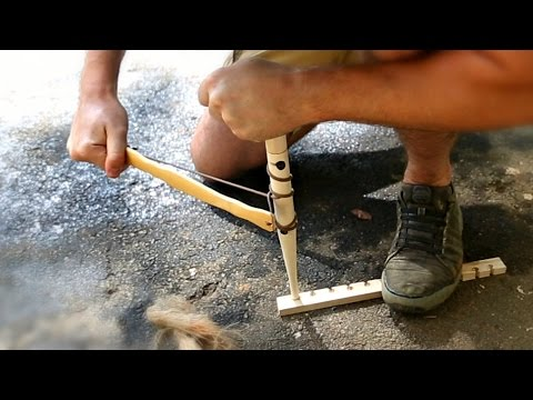 Primitive Fire Starter Kit Test