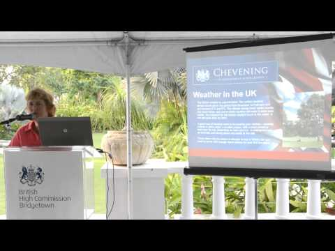 Pre-departure Presentation for Caribbean Students going to the UK