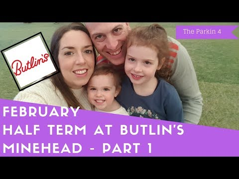Butlins Minehead February Half Term Break - Part 1 | THE PARKIN 4
