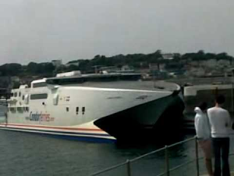 Condor Ferry from Guernsey to Jersey