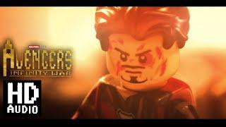 Avengers Infinity War: Iron Man vs Thanos in LEGO Audio Remastered