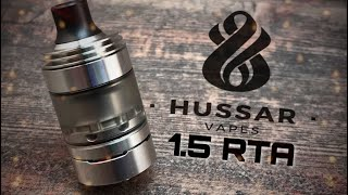 Hussar 1.5 RTA presentation + build
