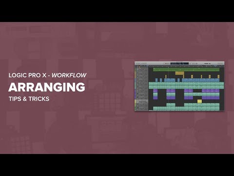 How To Arrange A Beat In Logic Pro X
