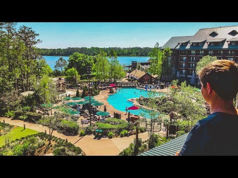 Wilderness Lodge Tour & Review
