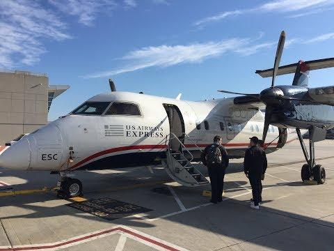 Last scheduled Dash 8-100 flight at American Eagle