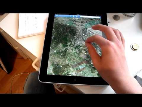 Google Earth on the iPad!