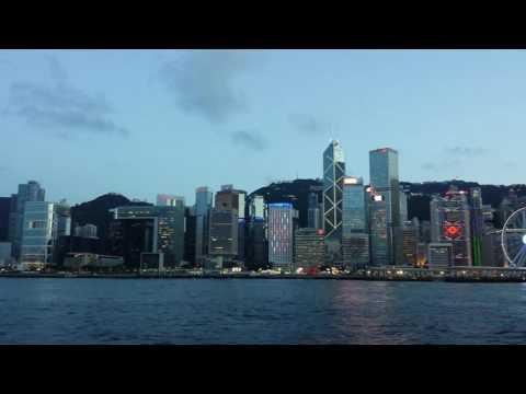 Central to Tsim Sha Tsui - Star Ferry - Hong Kong.