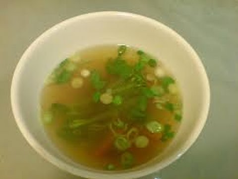 CLEAR SOUP 1 | RECIPES TO LEARN | EASY RECIPES | RECIPES TO LEARN | EASY RECIPES