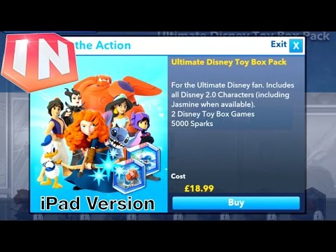 Let's Play Disney Infinity iOS - In App Purchases