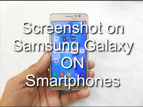 How to Take Screenshot on Galaxy ON5, ON7, On5 Pro, On7 Pro