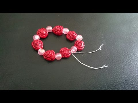 How to make terracotta bracelet - terracotta/clay jewellery making tutorial