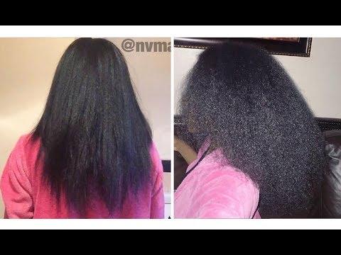 Natural hair HENNA TREATMENT experience