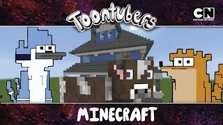 Eu sobrevivi a selva do Minecraft!!!    ToonTubers   Cartoon Network