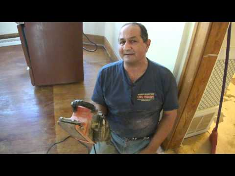 How To Sand A Old Wood Floor