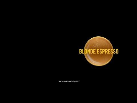 Now serving: Starbucks Blonde Espresso.