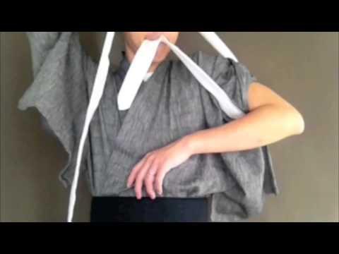 How to tie Tasuki